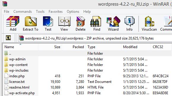 61i55a8d1076374b Как установить WordPress на хостинге