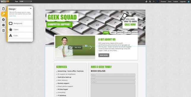 Как выбрать бесплатный конструктор сайтов