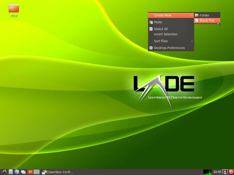 LXDE Desktop 800x600 Удаленный рабочий стол на vps windows