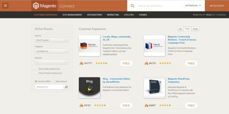 7776668c0b724acdb325bc50b69dc665 800x401 Интернет магазин своими руками при помощи Magento CMS