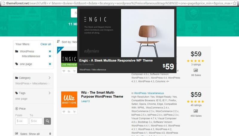 Screenshot 1 25 800x456 Лучший хостинг для wordpress: как бесплатно создать одностраничный сайт