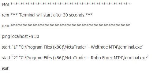 2 Как настроить vps форекс для торговли