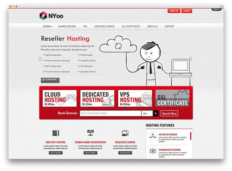 wp hosting 11 800x590 Лучшие темы и хостинг для Wordpress
