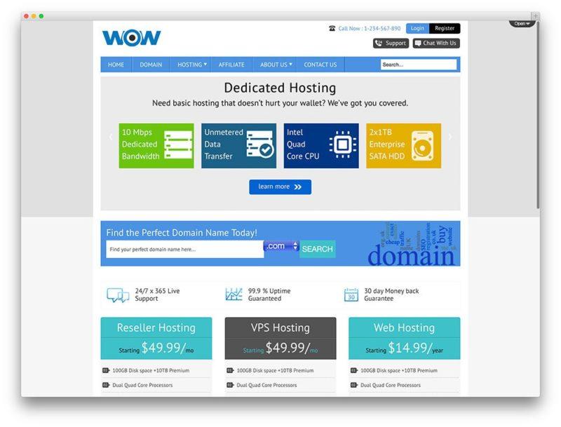wp hosting 12 800x609 Лучшие темы и хостинг для Wordpress
