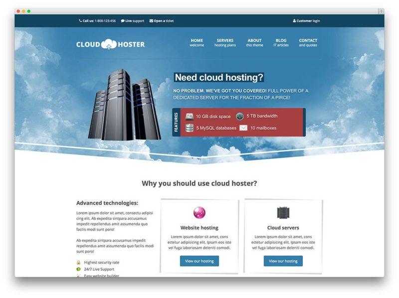 wp hosting 7 800x598 Лучшие темы и хостинг для Wordpress