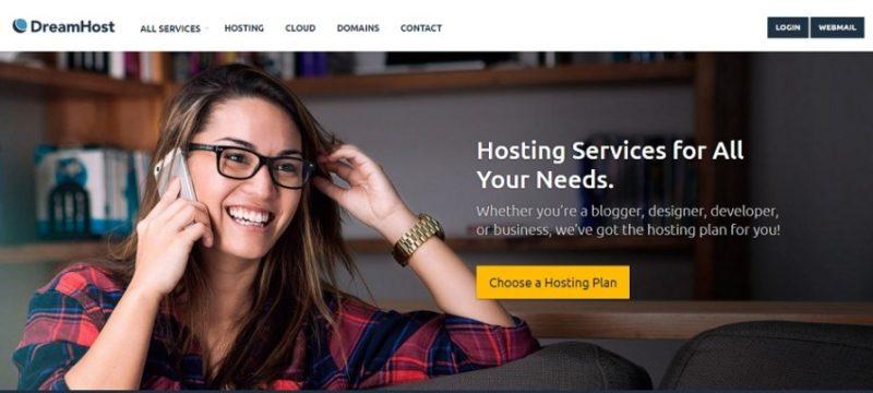 dreamhost e1444652808173 800x360 10 лучших сайтов в мире, где можно купить хостинг и домен