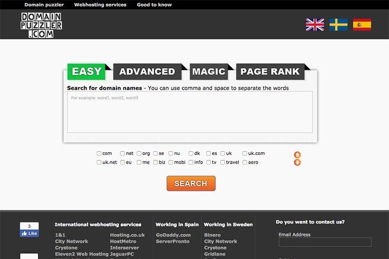 Купить хостинг и домен: генерация доменных имен